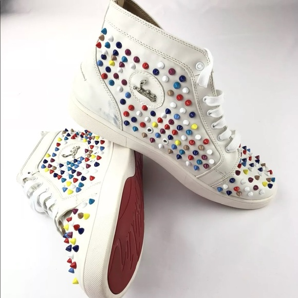 36bdb2ed4ca5 Christian Louboutin Other - Christian Louboutin Colored High Top Sneakers